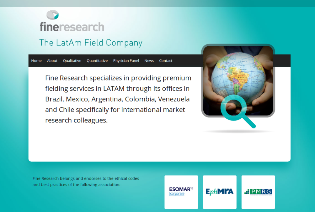 website fine research, brasil