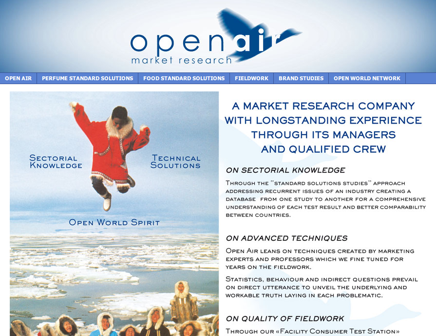 website open air france